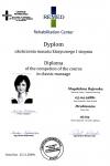 Certyfikat - masaż