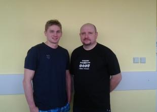 z Mistrzem Świata Radosławem Kaweckim