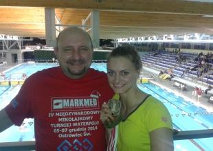 Z mistrzynia Alekasndrą Urbanczyk - Olejarczyk