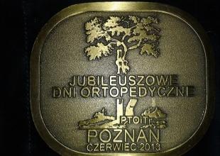 100 lat Ortopedii Polskiej. Medal pamiątkowy dla Markmed