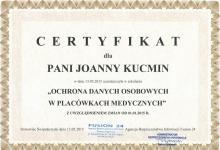 certyfikat-joanna-kucmin