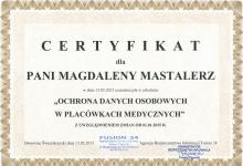 certyfikat-magdalea-mastalerz