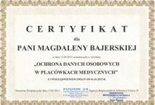 certyfikat-magdalena-bajerska
